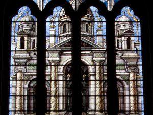 Créations Mireille Juteau - Eglise de Jambville  et Eglise de Saintes (photos web)
