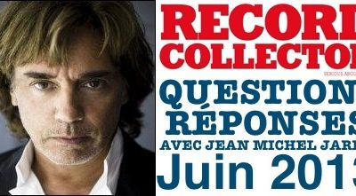Interview à Record Collector, édition juin 2013
