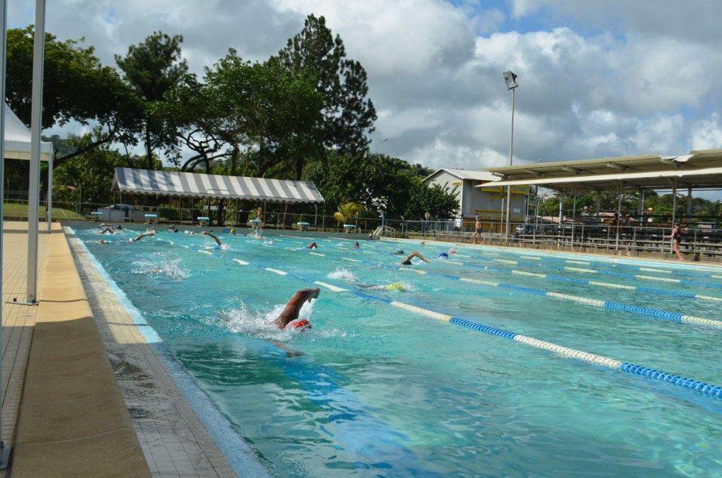Le 5ième IronTaquet, cru 2012, organisé à la piscine de Cayenne le dimanche 21 octobre 2012... Sans pluie cette année... malheureusement !!!