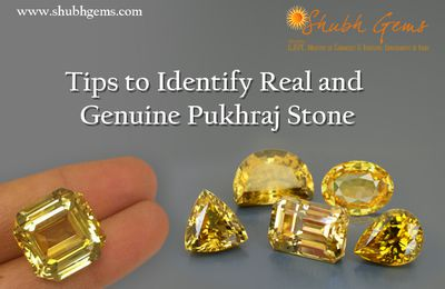 Some easy steps to identify genuine Yellow Sapphire Stone