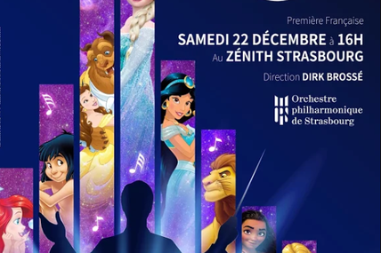 Strasbourg Disney en Concert Magical music from the Movies Samedi 22 décembre 2018