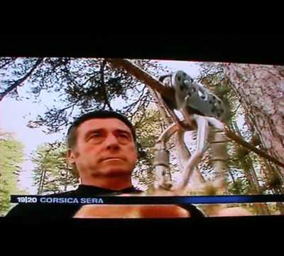 Reportage de france 3 Corse / Report on local tv