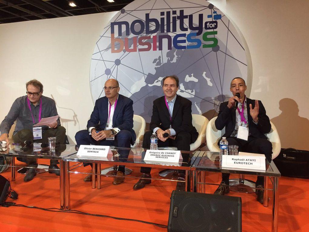 tables rondes du salon Mobility for Business animées par Pascal Caillerez - Atelier des Mots