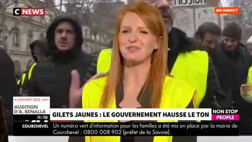 """La gilet jaune Ingrid Levavasseur confie """"ne pas être solidaire des actions mises en place par Eric Drouet et Maxime Nicolle"""""""