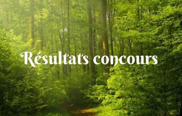 résultat concours novembre