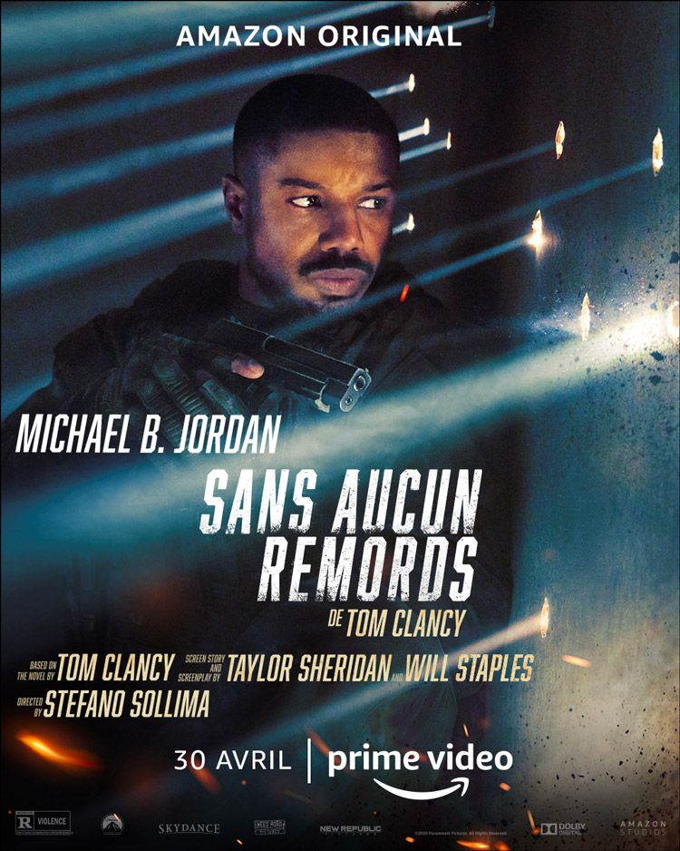 Le film « Sans aucun remords » de Tom Clancy avec Michael B. Jordan  disponible dès le 30 avril sur Amazon Prime Video (vidéo) - Le Zapping du  PAF