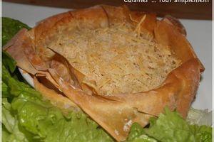 Croustillant Crabe - Moutarde