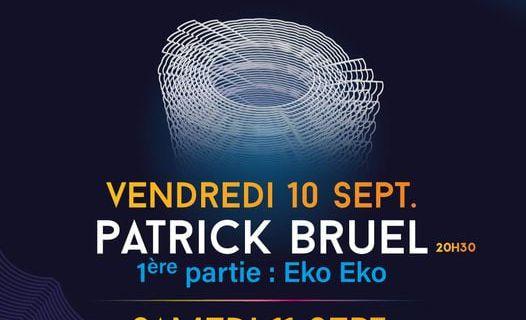 Patrick Bruel et Jean-Louis Aubert aux arènes de Lunel en septembre!