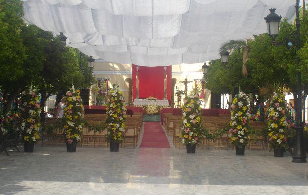 Visita del Cardenal Carlos Amigo Vallejo 2005