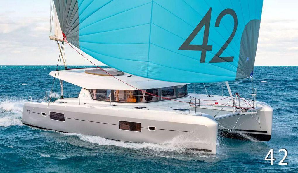 Already 100 Lagoon 42 catamarans built in just 1 year of marketing