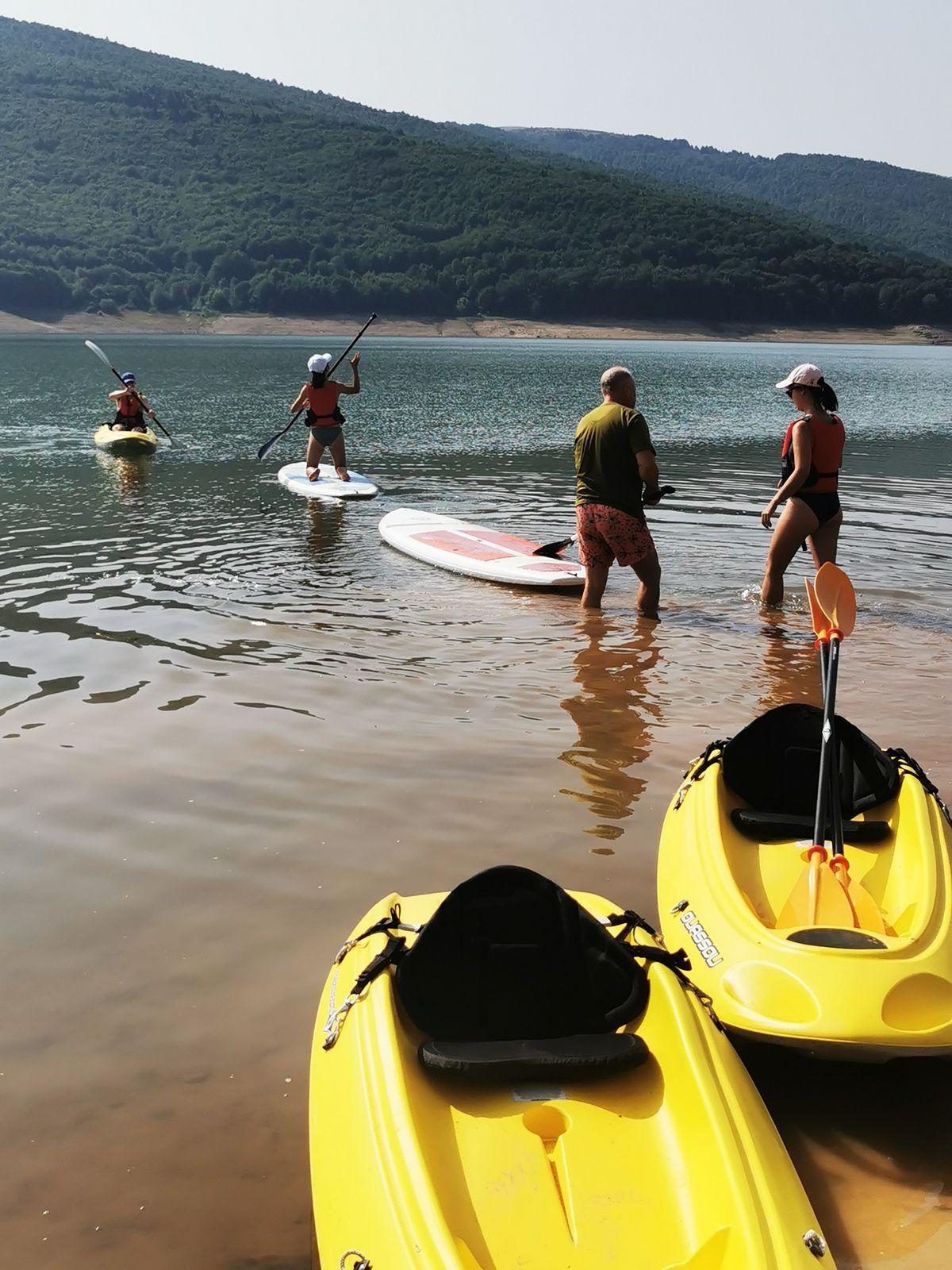 Mercredi 28 juillet : kayaks et Tetovo