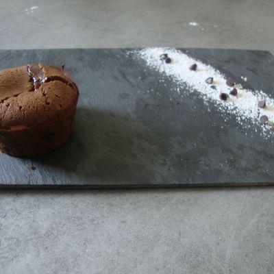 Moelleux au chocolat (pour 12 mini-fondants)
