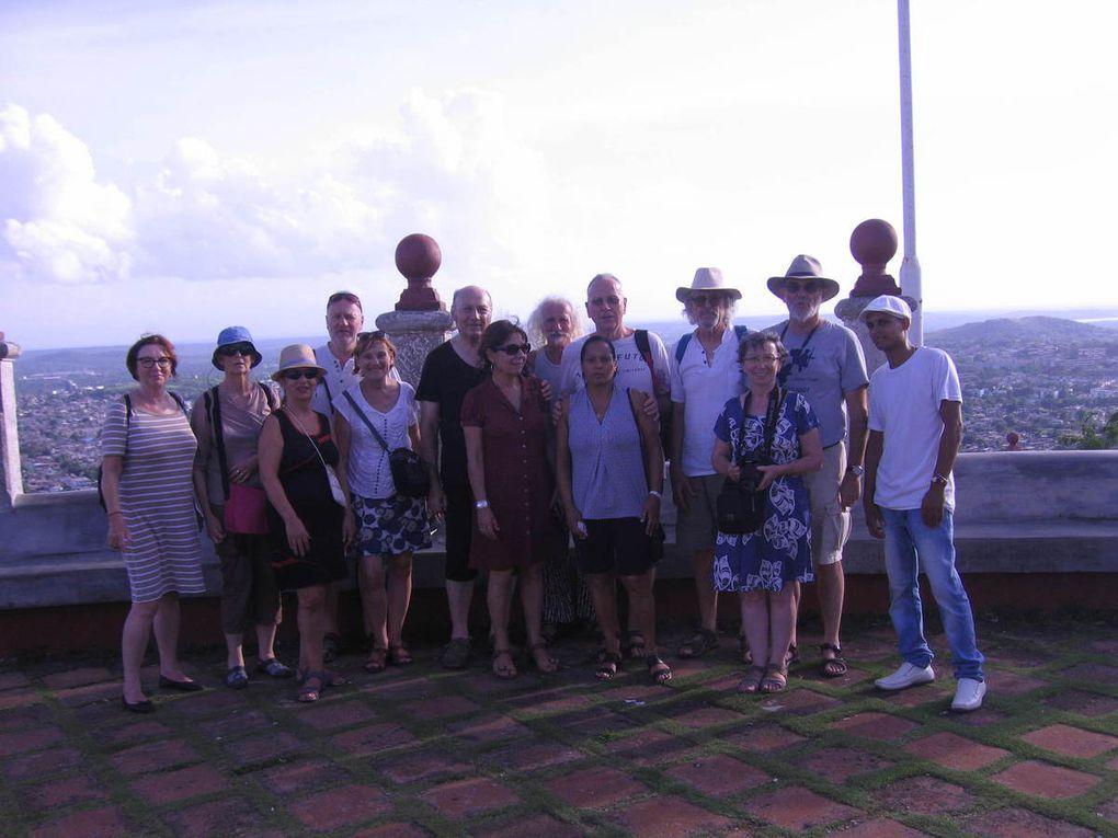 Les Amis et les bons moments sur les circuits, au Costa Rica, à Cuba, au Maroc (parapente)