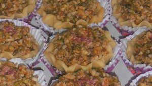gateau algérien de l'aid el faloudaj,gateau aux pistaches,noix de cajou,amandes,noisettes et noix