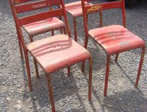 4 CHAISES TOLIX (VENDUES)