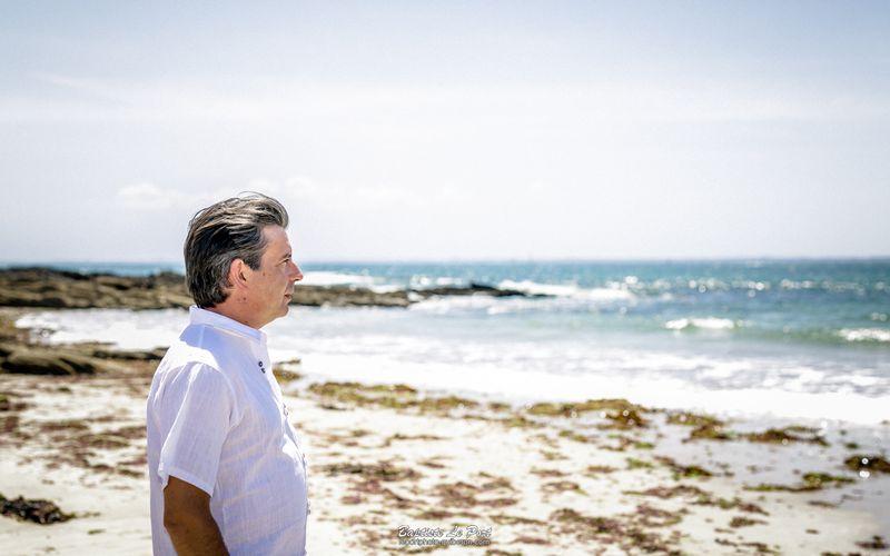 6 juillet - Séance à la plage pour Seb, pour le plaisir