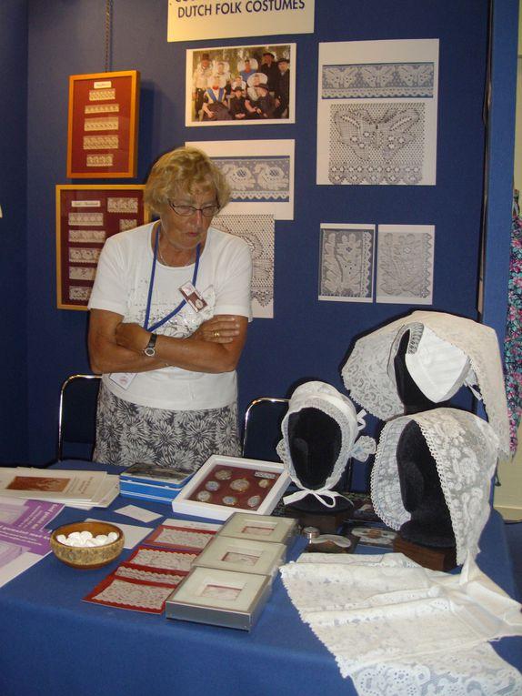 photographies des dentelles au congrès de Caen ,le 6 7 8 juillet 2012,fuseaux, aiguille