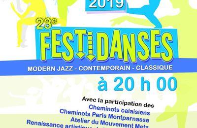 Dijon, les 8 et 9 juin 2019 - festival national de danse UAICF