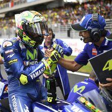 Course compliquée pour Rossi et Viñales à Sepang