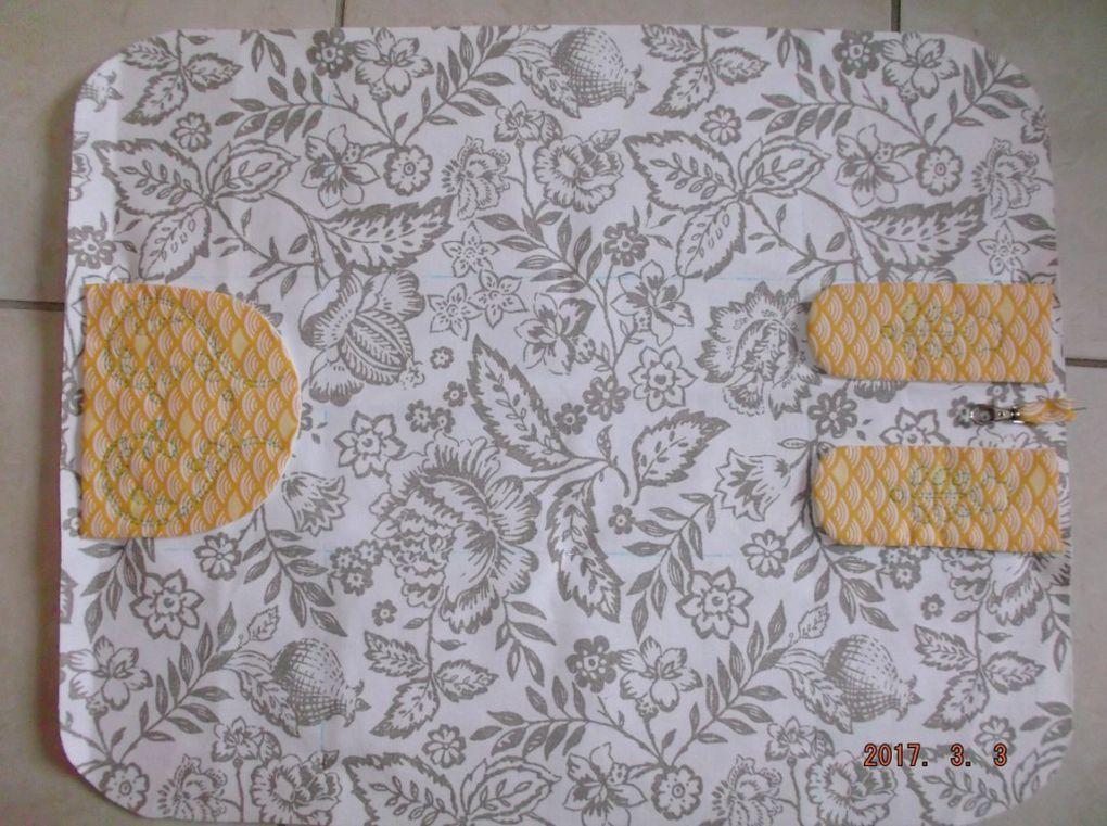 Trousse couture étape 1 et 2 envers endroit