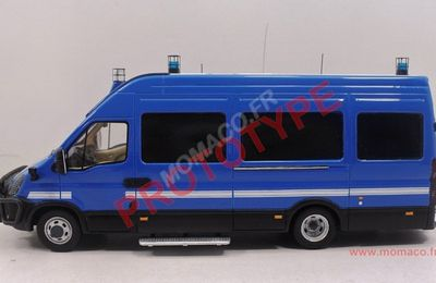 Iveco Daily Gendarmerie (1/43 - Perfex)