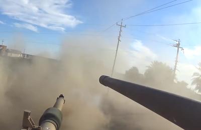 [VIDEO CHOC] Des journalistes irakiens placent une GoPro sur un tank à Ramadi... et ça déménage (Russia Today)