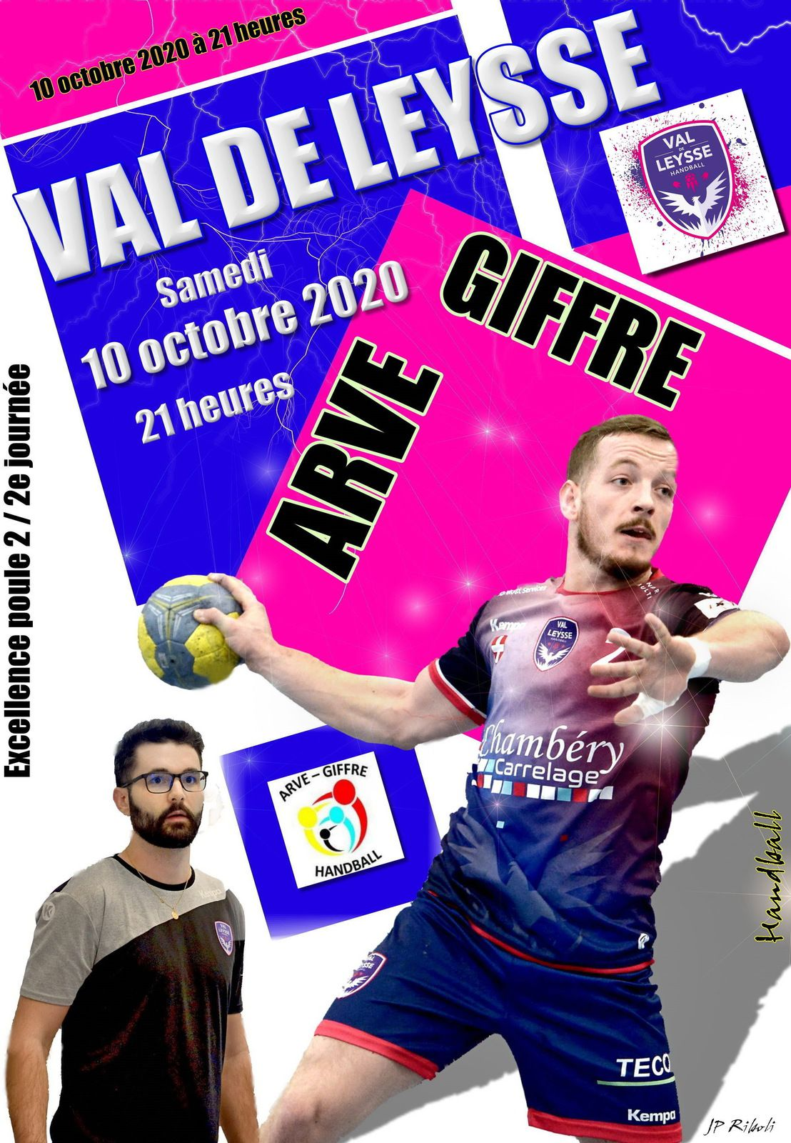Le planning des rencontres séniors du club du VAL DE LEYSSSE samedi 10 et dimanche 11 octobre 2020