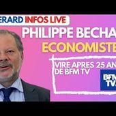 """PHILIPPE BECHADE :""""On m'a viré de BFM TV après 25 ans car je critique Macron"""""""