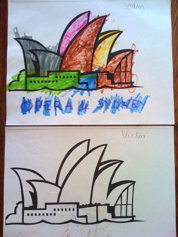 De beaux coloriages sur l'Australie