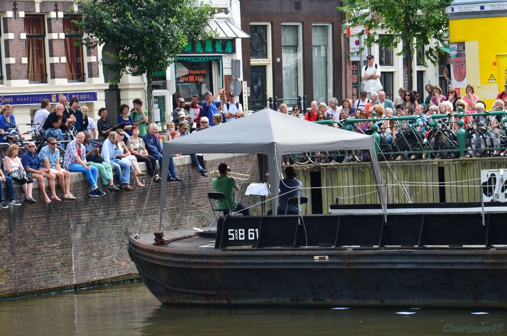 Amsterdam (Pays-Bas en camping-car)