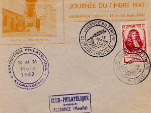 Des enveloppes furent également éditées par le club philatélique pour cette occasion