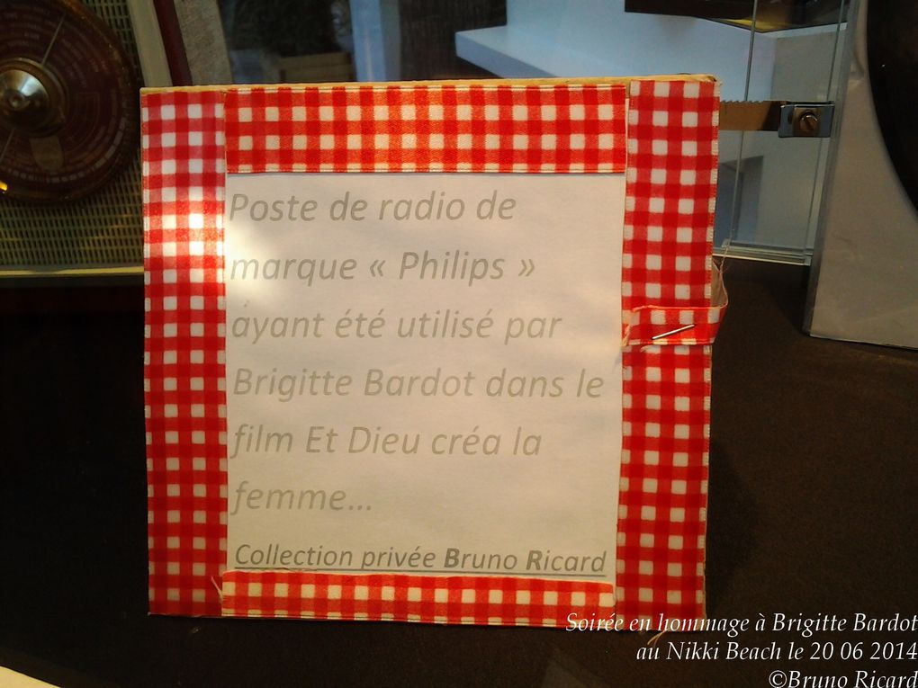 """Brigitte Bardot"" soirée du 20 06 2014 hommage au Nikki beach"