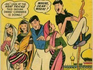 JERRY LEWIS  bambinone per bambini, a cartoni animati (Jerry Lewis show)