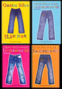 Quatre filles et un jean. Tome 1 Ann BRASHARES (Dès 13 ans)
