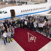 Dassault livre le premier Falcon 8X - Aerobuzz