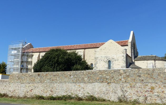 Avancement chantier de rénovation de l'abbaye Saint-Jean-d'Orbestier