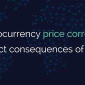 Cryptocurrency price correction or direct consequences of hacks?