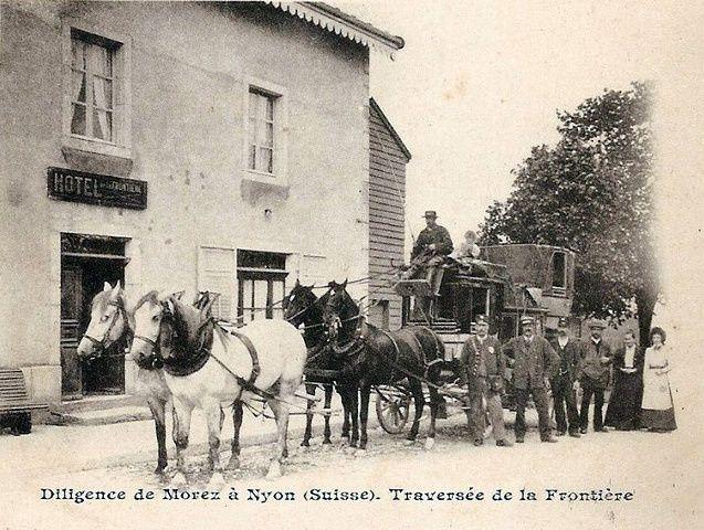 Album photos: Diligence suisse de montagne en 1906