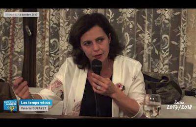 """Conférence """"Les temps vécus"""" Café Philo de la Garde 13 octobre 2017"""