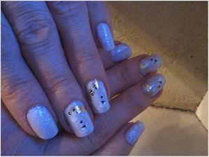 Nail art WD de Noël avec What's Your Nail....