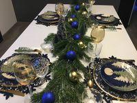 Comment faire une belle table de Noël, pas à pas