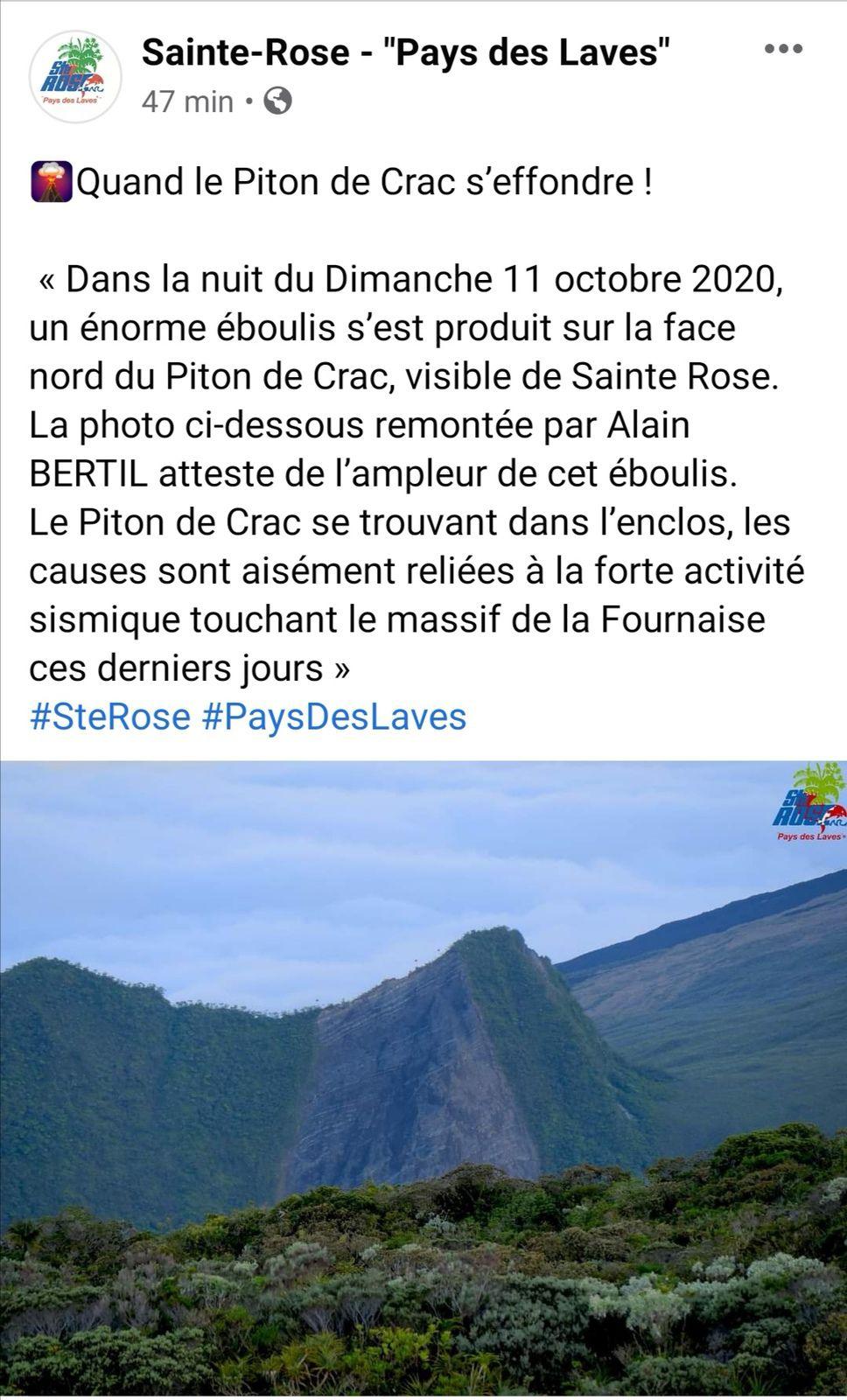 Source Sainte Rose Pays Des Laves