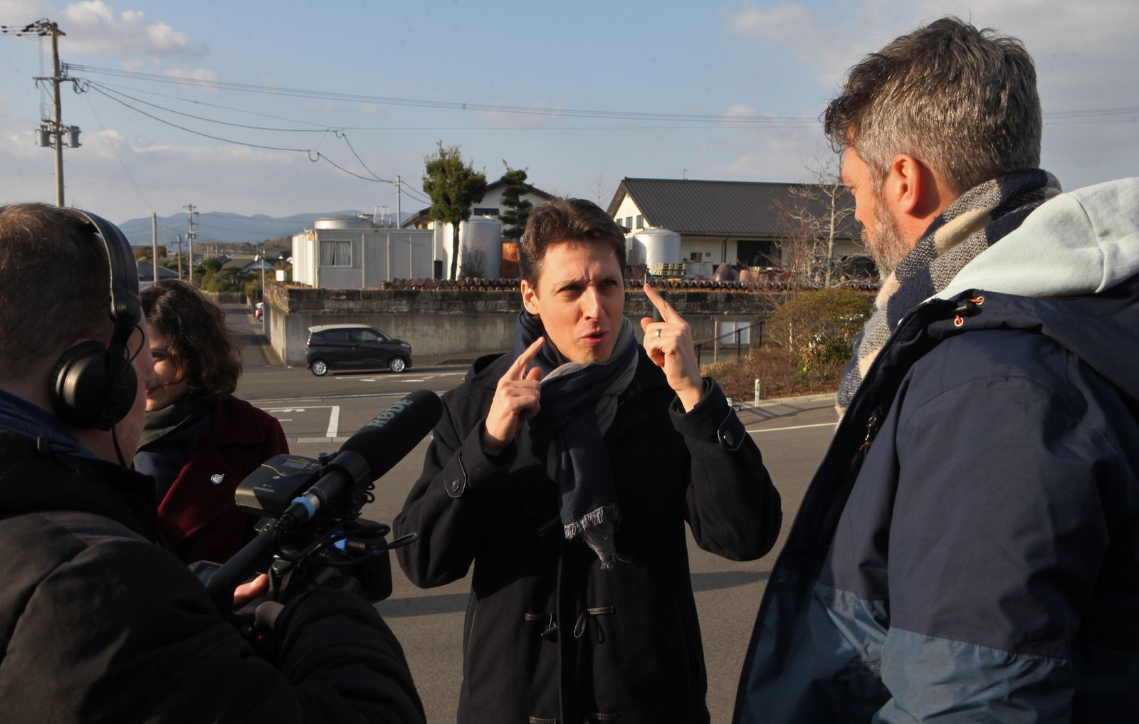 Les auteurs du documentaire ont suivi Philippe Troussard jusqu'au Japon. (JB)