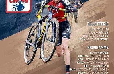 5ème et 6ème manche de la coupe de France de cyclo-cross à Bagnoles de l'Orne (61) les 13 et 14 novembre