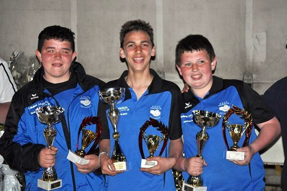 Championnat de l'Yonne Triplettes Jeunes : (Qualification à la Ligue Bourgogne)