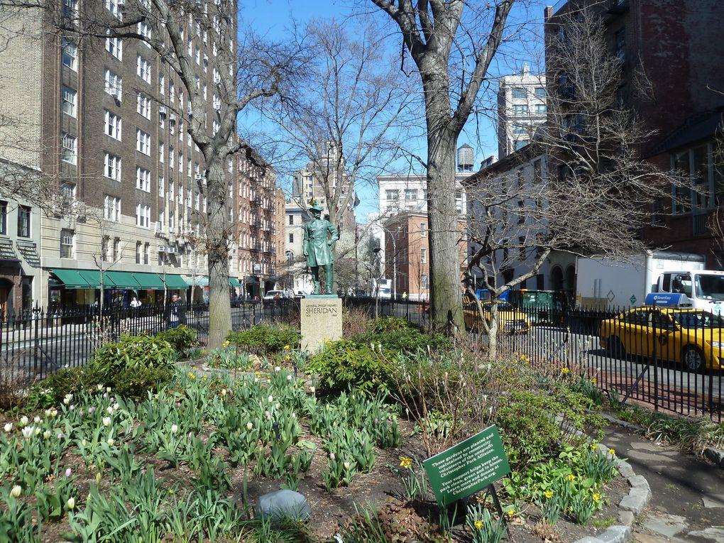 Greenwich Village, New York City, Avril 2018.