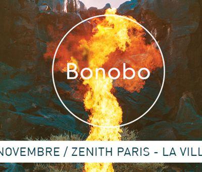 Agenda : Bonobo au Zénith, le 18 novembre 2017