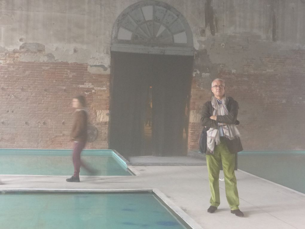 Crossing the Tide. Pavillon du Tuvalu, Arsenale © Le Curieux des arts Antoine Prodhomme. 56ème exposition Internationale d'Art - la Biennale di Venezia. 7 mai & 27 octobre 2015