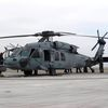 """Sikorsky MH-60S """"Knighthawk"""" - HSC-11 """"Dragonslayers"""" - Squadron CO's last flight"""