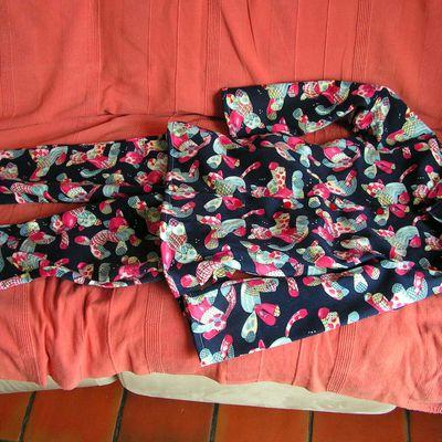 Pyjama d'hiver pour Juliette